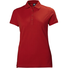 Helly Hansen Crew Pique 2 Polo Dam alert red